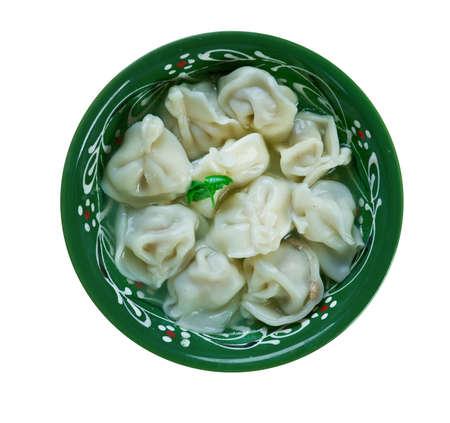 iraq: Shishbarak -  pasta or jiaozi dish made in Iraq, Lebanon, Syria, Jordan and Palestine,local variation on ravioli.