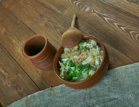 estonian: Estonian porridge kapsapuder