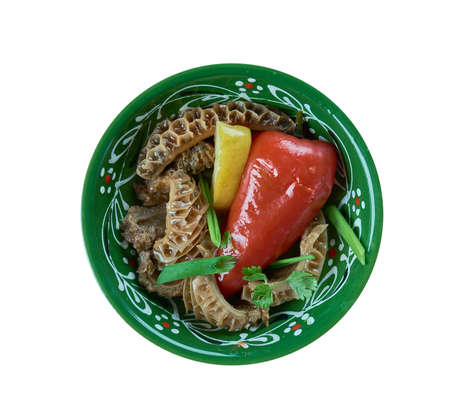 tripe salad - Asian style spicy trip