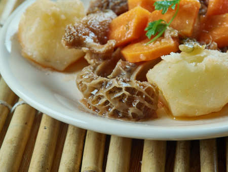 Mondongo  Dominican Tripe Stew Stock Photo