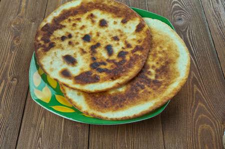 Chalpak - Thin Uzbek flapjack