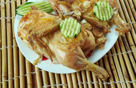 Djaj Mechwi  - Lebanese grilled chicken
