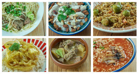 Food set . southern food.Latin American cuisine
