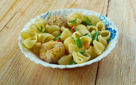 sopa: Escudella i carn dolla -  traditional Catalan soup and stew