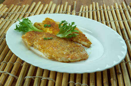 Roasted Bombay duck.  Mumbai cuisine
