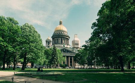 leningrad: Saint Isaac cathedral.Saint-Petersburg, Russia.June 4, 2015 Editorial