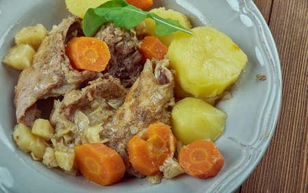 Stuffat tal-Fenek - national dish of Malta