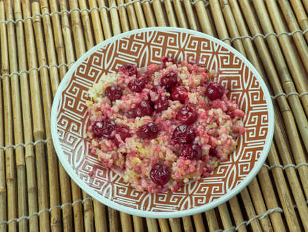 Albalu polow -  Persian Rice with Sour Cherries Imagens