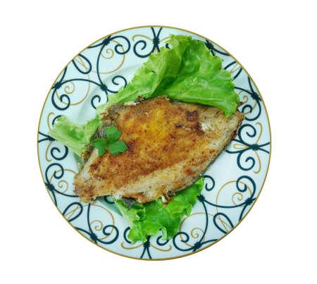 Masgouf - メソポタミア料理味付け、グリルの鯉。それはしばしばイラクの国の料理と見なされます。 写真素材