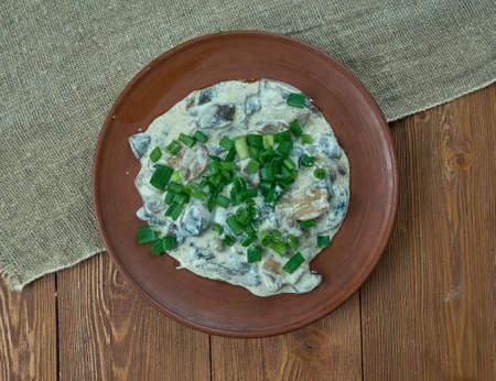 estonian: seene-salat - Estonian mushroom salad