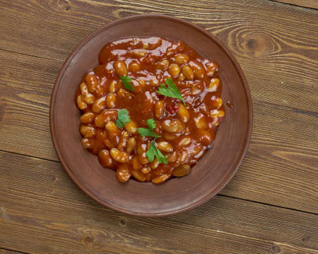 brixton: Slow Cooker Baked Brixton Beans