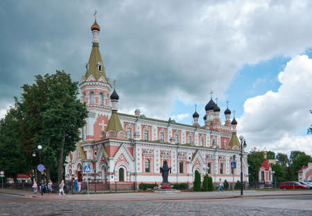 Grodno. Holy Protection cathedral