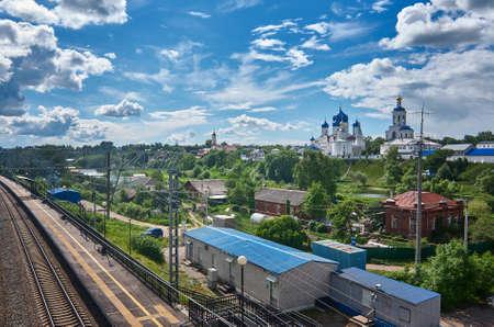 bogolyubovo: Railroad station .Bogolyubovo. Vladimir oblast. Russia