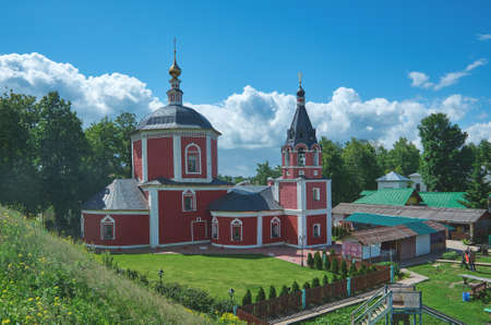 Temple of the Assumption of the Blessed Virgin Mary in Suzdal. Editorial