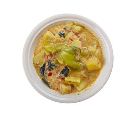 Aloo Potala Rasa -spicy gravy based curry of Odisha, made with potala  and alu , potatoes.