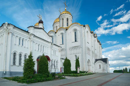 Assumption cathedral. Vladimir, Golden ring of Russia. June 22, 2017