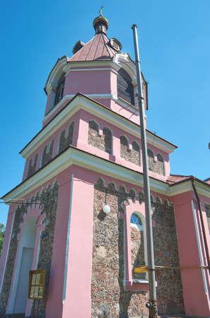 Church of St. Demetrius of Thessaloniki. Village of Malaya Berestovitsa