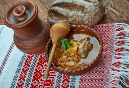 sweet and sour beef cabbage soup, Sweet Russian Cabbage Soup