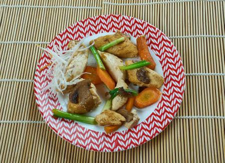 Szechuan stir-fry Chengdu Chicken