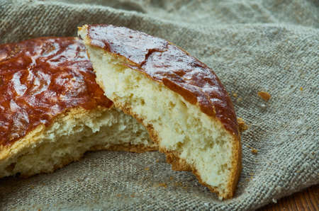 Armenian Gata Bread - popular dessert a lot of Armenians, similar to a coffee cake.