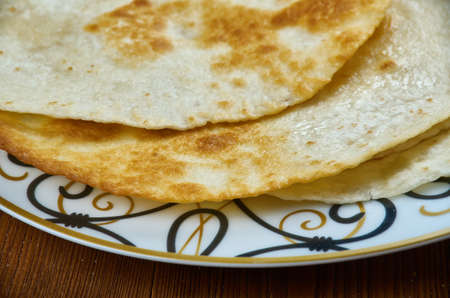 Sabaayad - Somali Flatbread, African cuisine Stock Photo