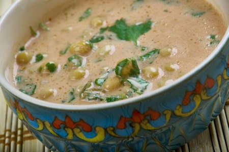 Xarba Arbija - Libyan Chick peas  Soup