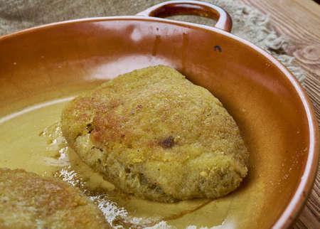 Kalduny - stuffed dumplings made of unleavened dough in Belarusian, Lithuanian, and Polish cuisines