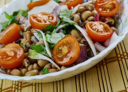 Saladu Nebbe - Senegal's Black-eyed Pea Salad
