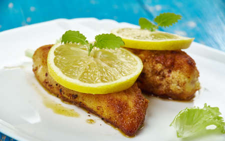 Lemon Chicken Romano - skinless chicken breasts with lemon butter sauce