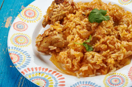 Kenyan Chicken Pilau,  Kenyan Chicken biryani