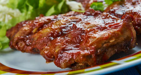 Slow Cooker Baby Back Ribs , Crockpot Barbecue Ribs