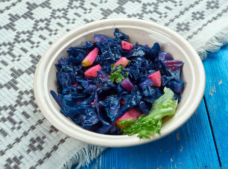 Danish Rodkal  - Fried Red Cabbage with Apples, Danish cuisine