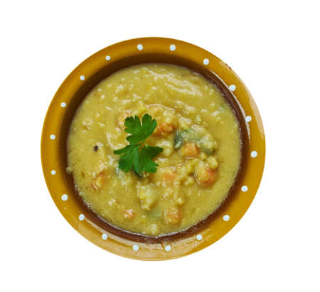 Turkish Split Pea Stew In An Instant Pot, close up 스톡 콘텐츠