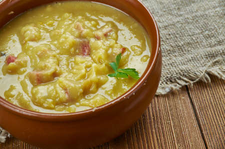 Rustic Nordic Pea Soup - Survive winter like the Scandanvians