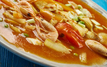 Brazilian Salt Cod Stew, Salt cod is a staple in South America, the Caribbean, and Europe