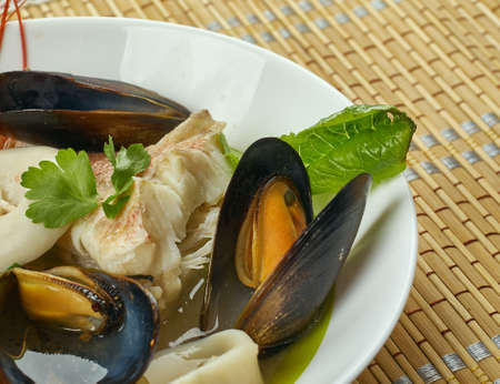 Cote Brasserie Breton Fish Stew, by the Atlantic Sea to the coasts of France
