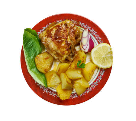 Portuguese assado - Portuguese Roast Chicken