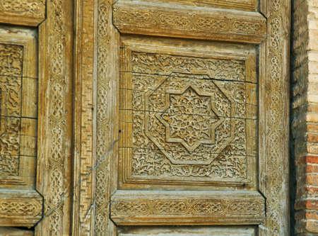 Uzgen -12th century Karakhanid mausoleum , Osh Region, Kyrgyzstan.