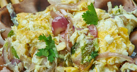 Chatpate Ande ki Sabji - Egg masala fry, Quick Indian-style