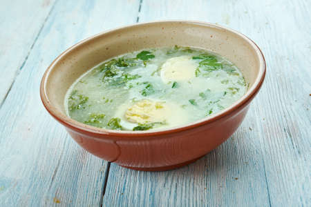 Danish Korvelsuppe - Anthriscus  sorrel soup