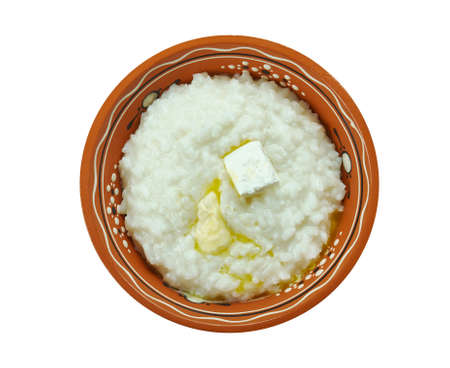 Risengrod - Scandinavian Rice Porridge, traditionally served on Christmas Eve in Denmark and Sweden