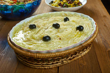Portuguese Salt Cod and Potato Casserole Bacalhau