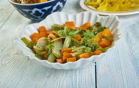 Gajar Methi   ki Sabzi- Carrot Fenugreek Stir Fry