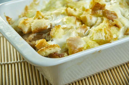 Crock Pot Chicken Stuffing Casserole , Tender chicken and savory stuffing every time
