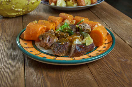 Slow Cooker Beef  Classic Pot Roast with Savory Onion Gravy