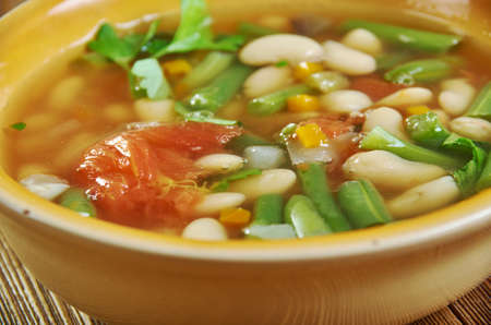 Chamthong in Manipur , delicious vegetable stew. Manipuri cuisine Stock Photo
