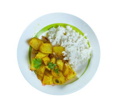 Daikon Curry - Daikon to ninjin no kareeni, Japanese Style Daikon Radish Curry, East Asian