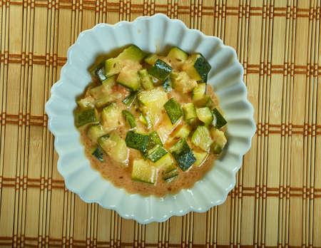 Khatta Meetha Kaddu, Punjabi  sweet sour pumpkin with fenugreek seeds.