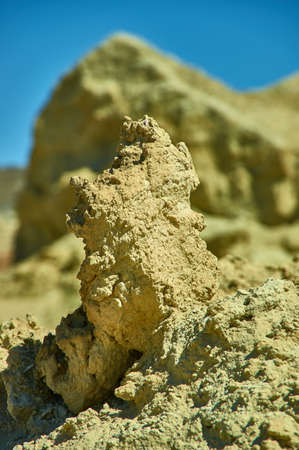 Plateau near the lake Khyargas Nuur, mongolian Ustyurt Plateau