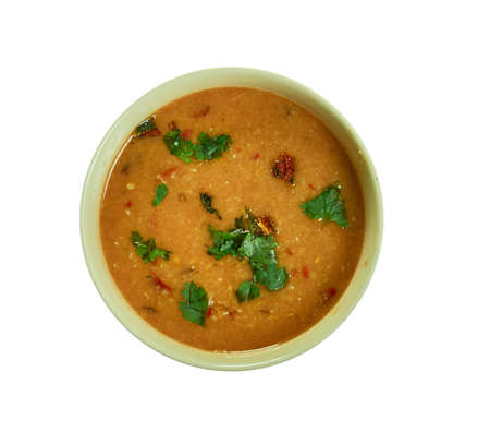 Maharashtrian Amti Dal with Goda Masala, Indian recipe served as a Side-Dish